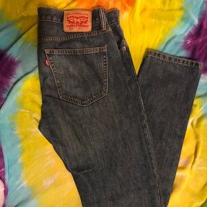 LEVIS 508 slim straight men jeans